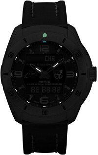 ルミノックスアメリカ海軍SEAL部隊ミリタリーウォッチ腕時計メンズ5241LuminoxMen's'SXC/XCORPilotPro'SwissQuartzTitaniumandLeatherAviatorWatch,Color:Black(Model:52ルミノックスアメリカ海軍SEAL部隊ミリタリーウォッチ腕時計メンズ5241