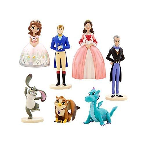 ちいさなプリンセス ソフィア ディズニージュニア Disney to post a small Princess Sofia play set 2 figure seven set doll toy Disney Channel goods collector's item review [parallel import goods]ちいさなプリンセス ソフィア ディズニージュニア画像