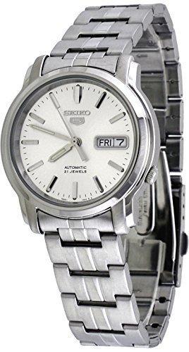 セイコー 腕時計 メンズ SNKK65 Seiko Men's SNKK65 5 Stainless Steel Siver Dial Watchセイコー 腕時計 メンズ SNKK65