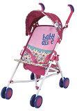 ベビーアライブ 赤ちゃん おままごと ベビー人形 D82091 Baby Alive Doll Stroller Toyベビーアライブ 赤ちゃん おままごと ベビー人形 D82091