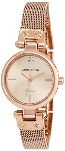 アンクライン 腕時計 レディース AK/3002RGRG Anne Klein Women's Quartz Metal and Stainless Steel Dress Watch, Color:Rose Gold-Tonedアンクライン 腕時計 レディース AK/3002RGRG