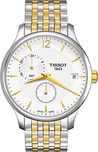 ティソ 腕時計 メンズ Tissot Tradition GMT Men's Watch T063.639.22.037.00ティソ 腕時計 メンズ