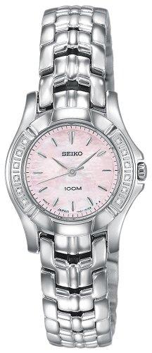 腕時計, レディース腕時計  SXGN49 Seiko Womens SXGN49 Diamond Silver-Tone Watch SXGN49