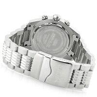 【当店1年保証】インヴィクタInvictaMen's'Bolt'QuartzStainlessSteelCasualWatch,Color:Silver-Toned(Model:255