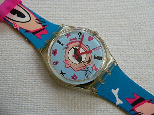 【当店1年保証】スウォッチ1991 Swatch Watch GULP GK139 Designed by MASSIMO GIACON