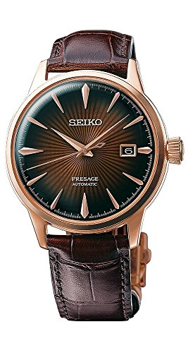 【当店1年保証】セイコーSeiko SRPB46 Mens PRESAGE Automatic Watch w/ Date