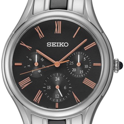 セイコー 腕時計 レディース SKY719P1 Seiko SKY719P1 36.5mm Silver Steel Bracelet & Case Mineral Women's Watchセイコー 腕時計 レディース SKY719P1
