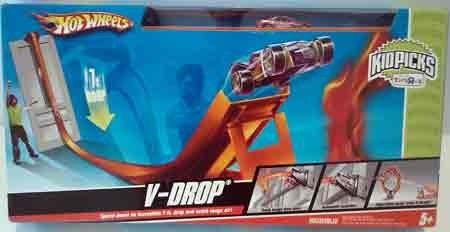 ホットウィール マテル ミニカー ホットウイール Hot Wheels V-Drop Speed Car Play Setホットウィール マテル ミニカー ホットウイール