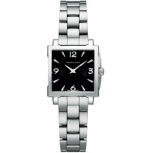 Hamilton Watch Ladies H32251135 [Livraison gratuite] Hamilton Jazzmaster Square Montre à quartz pour femmes H32251135 Hamilton Watch Ladies H32251135