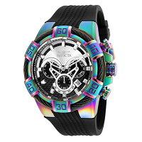 インヴィクタインビクタボルト腕時計メンズ26320InvictaMen's'Bolt'QuartzStainlessSteelandSiliconeCasualWatch,Color:Black(Model:26320)インヴィクタインビクタボルト腕時計メンズ26320