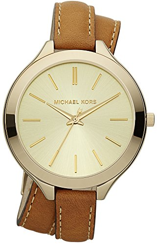 【当店1年保証】マイケルコースMichael Kors MK2256 Runway Champagne Dial Ladies Watch