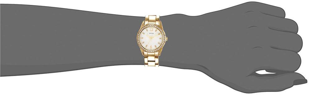 ゲス GUESS 腕時計 レディース W0445L2 Guess DESIRE W0445L2 28mm Gold Plated Stainless Steel Case Gold Plated Stainless Steel Mineral Women's Watchゲス GUESS 腕時計 レディース W0445L2