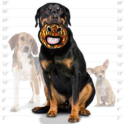 犬おもちゃ イヌ ねこ 病みつき ココ掘れわんわん T-A-Ball-Fire TUFFY Alien Ball Durable Dog Toy, Fire Print犬おもちゃ イヌ ねこ 病みつき ココ掘れわんわん T-A-Ball-Fire