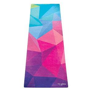 ヨガマット フィットネス The Combo Yoga Mat. Luxurious, Non-Slip, Mat/Towel Designed to Grip Better w/Sweat! Machine Washable, Eco-Friendly. Ideal for Hot Yoga, Bikram, Ashtanga, or Sweaty Practice. (Geo, 70 x 24)ヨガマット フィットネス