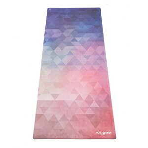ヨガマット フィットネス The Combo Yoga Mat. Luxurious, Non-Slip, Mat/Towel Designed to Grip Better w/Sweat! Machine Washable, Eco-Friendly. Ideal for Hot Yoga, Bikram, Ashtanga, or Sweaty Practice (Tribeca Love-, 70 x 24)ヨガマット フィットネス