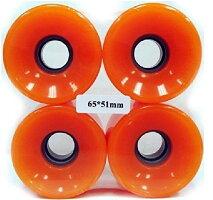 ウィールタイヤスケボースケートボード海外モデルEverland65x51mmWheels(Orange)ウィールタイヤスケボースケートボード海外モデル