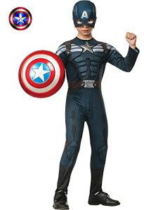 コスプレ衣装 コスチューム キャプテンアメリカ 885077_L 【送料無料】Rubies Captain America: The Winter Soldier Deluxe Stealth Suit Costume, Child Largeコスプレ衣装 コスチューム キャプテンアメリカ 885077_L