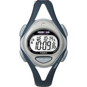 タイメックス 腕時計 レディース T5K451 【送料無料】Timex Women's T5K451 Ironman Sleek 50 Mid-Size Dark Blue/Gray Resin Strap Watchタイメックス 腕時計 レディース T5K451