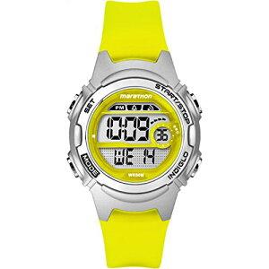 タイメックス 腕時計 レディース TW5K96700 【送料無料】Marathon by Timex Women's TW5K96700 Digital Mid-Size Yellow/Gray Resin Strap Watchタイメックス 腕時計 レディース TW5K96700