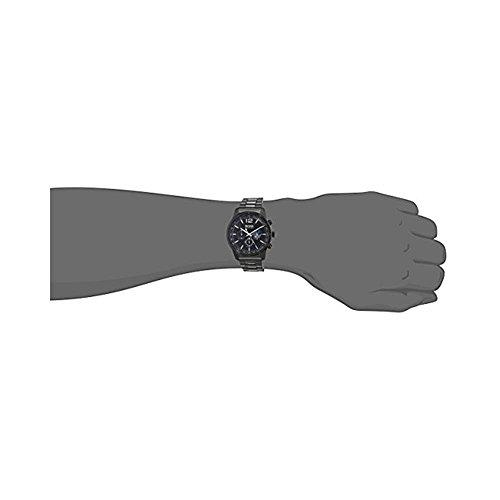 ヒューゴボス 高級腕時計 メンズ 1513528 Hugo Boss Men's 42mm Black IP Steel Bracelet & Case Quartz Analog Watch 1513528ヒューゴボス 高級腕時計 メンズ 1513528