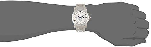 【当店1年保証】セイコーSeiko premier SNQ139 41mm Silver Steel Bracelet & Case Hardlex (used for Seiko only) Men's Wat