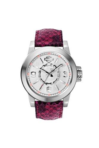 【当店1年保証】ブローバHarley-Davidson Women's Bulova Chain Wrist Watch 76L172