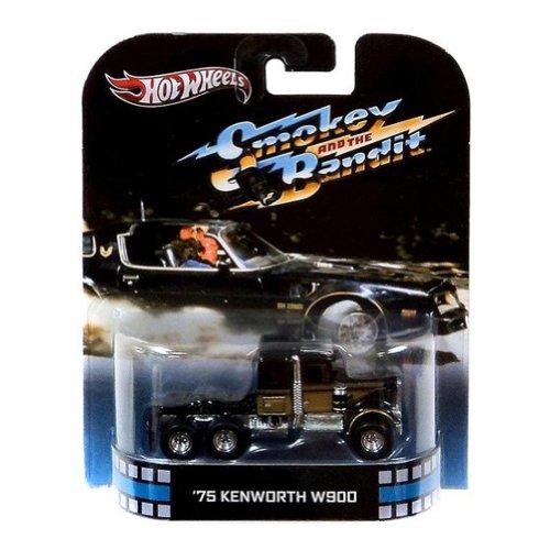 ホットウィール マテル ミニカー ホットウイール 2013 Hot Wheels Retro Entertainment Smokey and the Bandit - 1975 KENWORTH W900ホットウィール マテル ミニカー ホットウイール