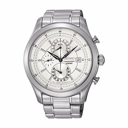 【当店1年保証】セイコーSeiko Men's SPC163P1 Chronograph Watch