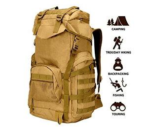 ミリタリーバックパック タクティカルバックパック サバイバルゲーム サバゲー アメリカ 70L Military Tactical Backpack Large Army 3 Day Assault Pack Molle Backpacks Rucksacミリタリーバックパック タクティカ