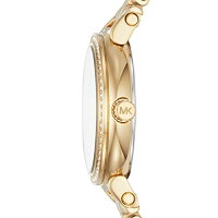 【当店1年保証】マイケルコースMichaelKorsWomen's'Sofie'QuartzStainlessSteelCasualWatch,Color:Gold-Toned(M
