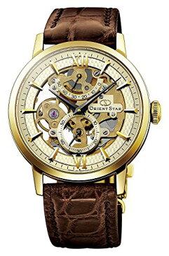 オリエント 腕時計 メンズ ORIENT STAR Flagship Skeleton Power Reserve Spherical Sapphire Gold Watch DX02001Cオリエント 腕時計 メンズ