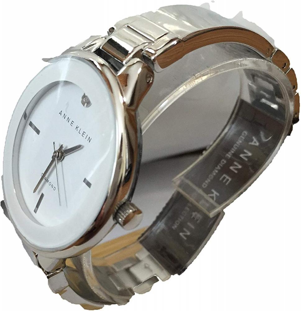 アンクライン 腕時計 レディース Anne Klein Diamond Accent Gold-tone Bracelet Watch AK/2307WTSVアンクライン 腕時計 レディース