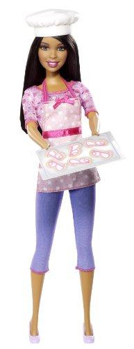ぬいぐるみ・人形, 着せ替え人形  BDT41 Barbie Careers Cookie Chef African-American Fashion Doll BDT41