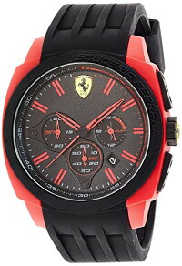 【当店1年保証】フェラーリScuderiaFerrariWatchAERODINAMICO0830115Men's[regularimportedgoods]