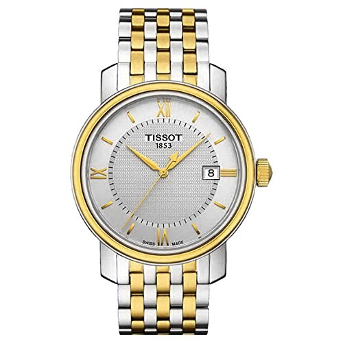 ティソ 腕時計 メンズ T0974102203800 Tissot T097.410.22.038.00 Mens BRIDGEPORT Two-Tone Swiss Made Watch w/ Dateティソ 腕時計 メンズ T0974102203800
