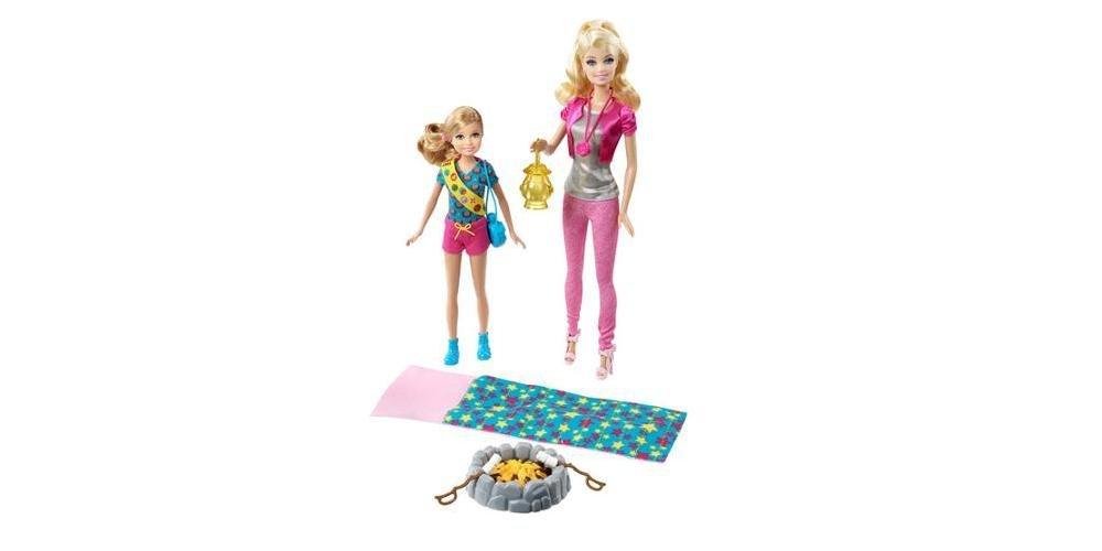 バービー バービー人形 チェルシー スキッパー ステイシー Barbie and Stacie Camping Set. These Fashionable Figurines Are Ready to Go Glamping. Both Sisters Are Included, in Addition to Accessories Lバービー バービー人形 チェルシー スキッパー ステイシー