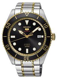 セイコー腕時計メンズSeikoSeries5AutomaticBlackDialMensWatchSRPB94セイコー腕時計メンズ
