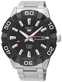 セイコー腕時計メンズSeiko5SportsSRPA55K1AutomaticMensWatchSolidCaseセイコー腕時計メンズ