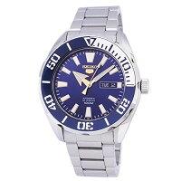 セイコー腕時計メンズSEIKO5Sports100mAutomaticBlueDialWatchSRPC51K1セイコー腕時計メンズ