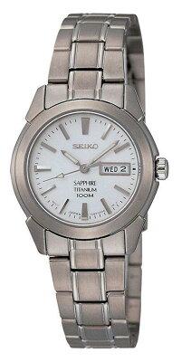 セイコー腕時計レディースSeikoSXA111P1LadiesSapphireTitaniumWatchセイコー腕時計レディース