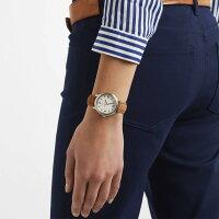 ルミノックスアメリカ海軍SEAL部隊ミリタリーウォッチ腕時計メンズMondaineMen's'Helvetica'SwissQuartzStainlessSteelandLeatherCasualWatch,ColorBrown(Model:MH1.B3110.LG)ルミノックスアメリカ海軍SEAL部隊ミリタリーウォッチ腕時計メンズ