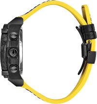 ブローバ腕時計メンズBulova98B312PrecisionistMen'sWatchBlack/Yellow46.5mmBlackIPStainlessSteelandForgedCarboncaseブローバ腕時計メンズ