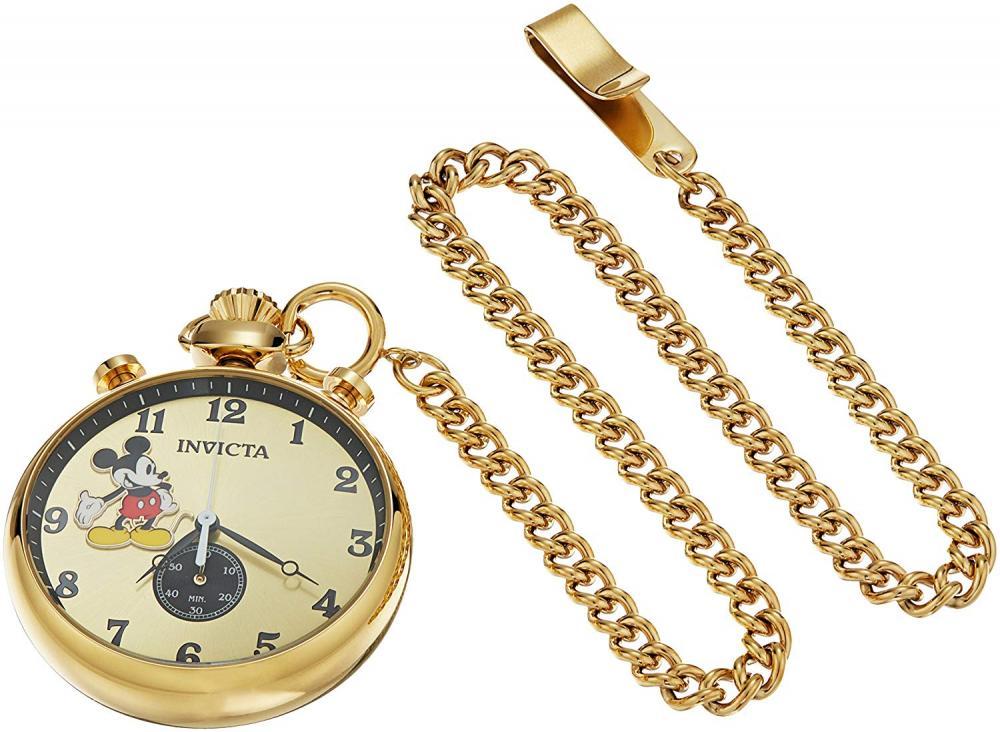 インヴィクタ インビクタ 腕時計 メンズ ディズニー Invicta Men's Disney Limited Edition Quartz Watch with Stainless-Steel Strap, Gold, 7 (Model: 22746インヴィクタ インビクタ 腕時計 メンズ ディズニー