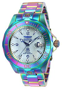 インヴィクタインビクタ腕時計メンズInvictaMen's47mmGrandDiverAutomaticIridescentPlatinumMotherOfPearlDialStainlessSteelBraceletWatchインヴィクタインビクタ腕時計メンズ