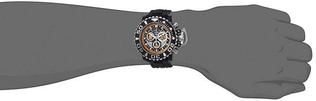 インヴィクタインビクタ腕時計メンズInvictaMen's'Garfield'QuartzStainlessSteelandPolyurethaneCasualWatch,ColorBlack(Model:24892)インヴィクタインビクタ腕時計メンズ