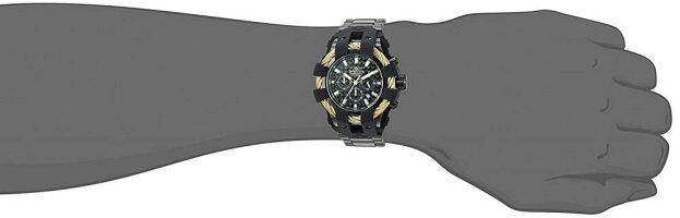 インヴィクタインビクタボルト腕時計メンズ26676InvictaBoltMen50mmStainlessSteel+SiliconeGold+BlackBlackdialVD53Quartzインヴィクタインビクタボルト腕時計メンズ