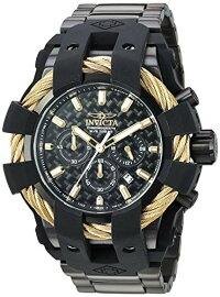 インヴィクタインビクタ腕時計メンズ26676InvictaBoltMen50mmStainlessSteel+SiliconeGold+BlackBlackdialVD53Quartzインヴィクタインビクタ腕時計メンズ