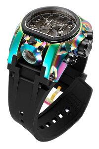 インヴィクタインビクタリザーブ腕時計メンズInvictaReserveMen's52mmBoltZeusMagnumSwissQuartzDualMovementIridescentSiliconeStrapWatchインヴィクタインビクタリザーブ腕時計メンズ