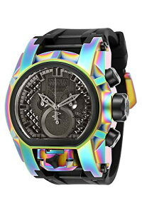 インヴィクタインビクタ腕時計メンズInvictaReserveMen's52mmBoltZeusMagnumSwissQuartzDualMovementIridescentSiliconeStrapWatchインヴィクタインビクタ腕時計メンズ