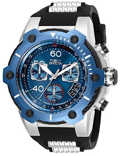 インヴィクタ インビクタ ボルト 腕時計 メンズ Invicta Men's Bolt Stainless Steel Quartz Silicone Strap, Silver, 30 Casual Watch (Model: 25871インヴィクタ インビクタ ボルト 腕時計 メンズ